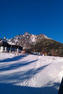 FOTKA - stopy v snehu
