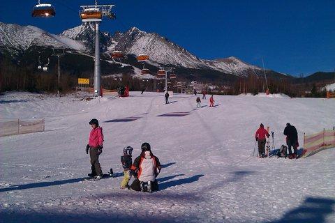 FOTKA - malí, veľkí, všetci majú radi zimné športy :)