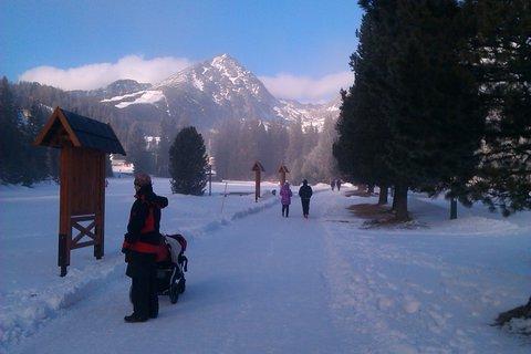 FOTKA - na zimnej prechádke mráz vyštípe líčka :)