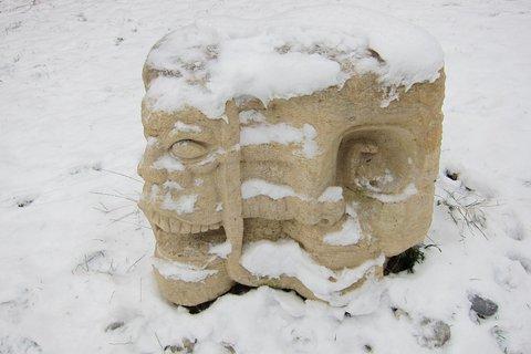 FOTKA - Konečně trochu sněhu - to je radosti