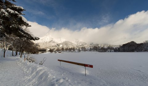 FOTKA - Konečně přišla zima na Ritzensee - Jezero je pod sněhem