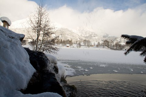 FOTKA - Konečně přišla zima na Ritzensee - Za studánkou