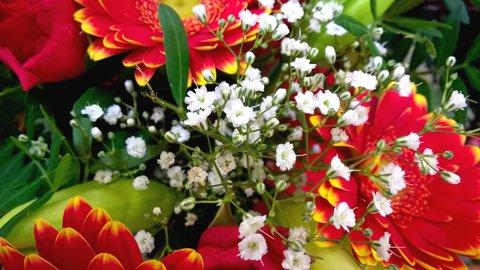 FOTKA - část kytice pro kolegyni k šedesátinám