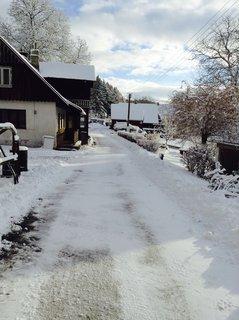 FOTKA - K nám zima zase zavítala