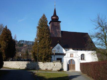 FOTKA - kostel v Rybí