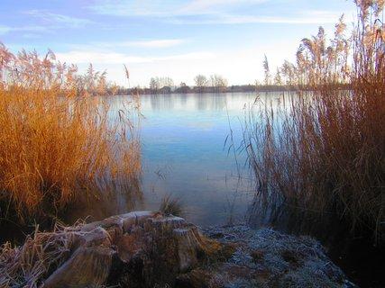 FOTKA - V Chropyni za zámkem u rybníku