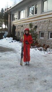 FOTKA - Kaja na lyžiarskom