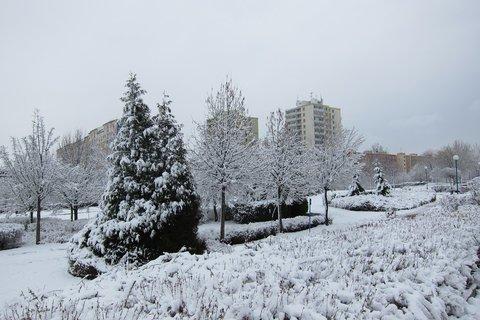 FOTKA - Dál sníh padá v hory doly a dál...lalala