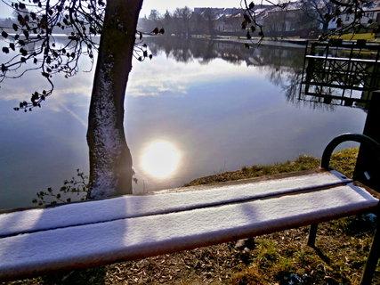 FOTKA - Slunce v rybníce