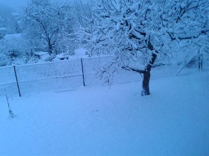 FOTKA - Včera sucho-dnes nadílka sněhová