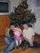 Naše dětičky o vánocích 2007