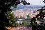 výhled ze svahů Petřína*