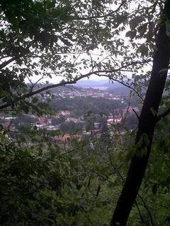 FOTKA - Boskovice pres stromy