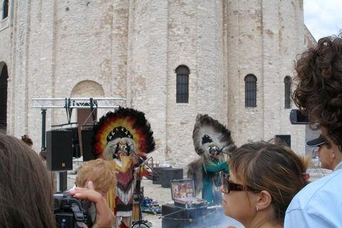 FOTKA - Indiáni v Zadaru
