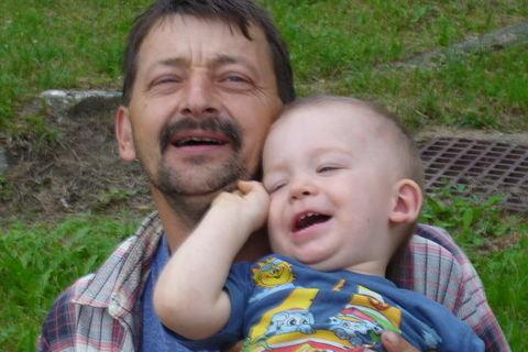 FOTKA - děda a daneček