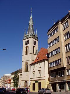 FOTKA - kostel  sv. Štěpána, Praha