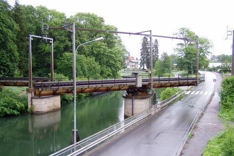 FOTKA - Motala - otočný železniční most