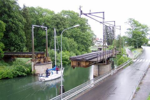 FOTKA - Motala- otočný železniční most 2