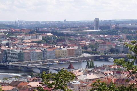 FOTKA - Praha z Petřína - (4)