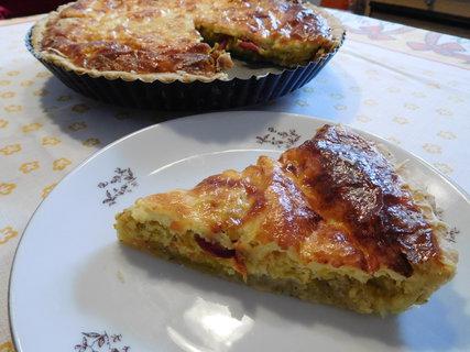 FOTKA - Porce pórkového koláče k obědu