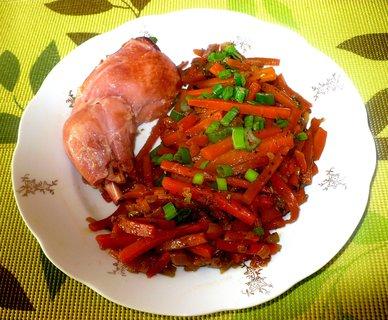 FOTKA - Králík s mrkvovou slámou