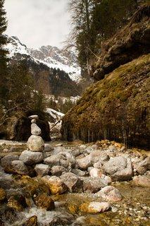 FOTKA - Ještě zimní procházka k Triefen - Nádherná krajina