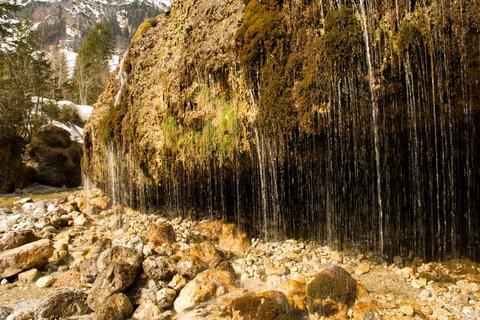 FOTKA - Ještě zimní procházka k Triefen - Proudy vody