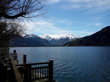 FOTKA - Dnešní zastávka v Zell am See - Pohled na Kitzsteinhorn