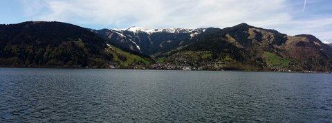 FOTKA - Dnešní zastávka v Zell am See - Panorama Zell am See