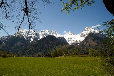 FOTKA - Lofer - Pohled na okolní hory