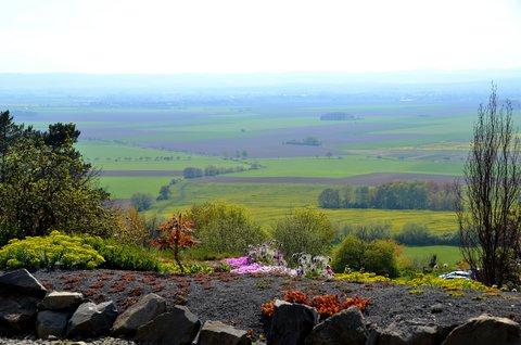 FOTKA - Pohled z nejvyššího místa arboreta