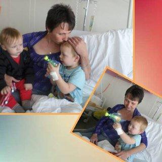 FOTKA - babička v nemocnici