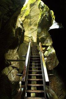 FOTKA - Seisenbergklamm -  Schody nahoru