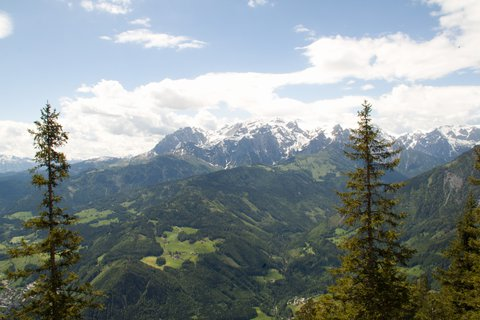 FOTKA - Eisriesenwelt - Okolní hory