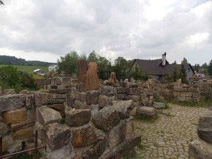 FOTKA - dřevěné sochy