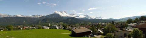 FOTKA - Zase jednou okolo Ritzensee - Panorama Saalfeldenu