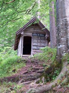FOTKA - Znovu na Einsiedelei - Stodola v lese