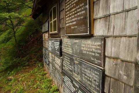 FOTKA - Znovu na Einsiedelei - Stodola s tzv. Leichladen