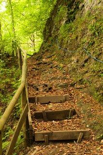 FOTKA - Znovu na Einsiedelei - Schody k Einsiedelei