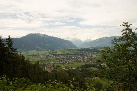 FOTKA - Znovu na Einsiedelei - Pohled na Saalfelden