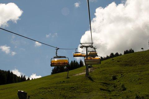 FOTKA - Gabühel z Hinterthalu - Lanovkou nahoru