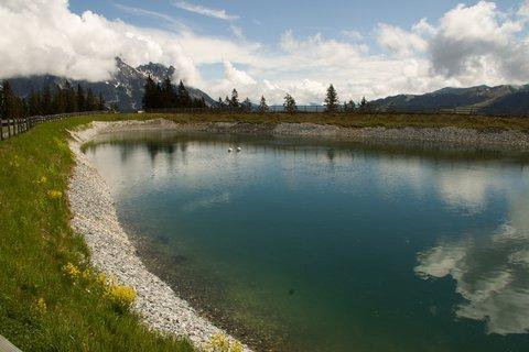 FOTKA - Gabühel z Hinterthalu - Část vodní nádržky
