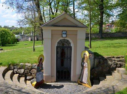 FOTKA - Kaplička sv. Máří Magdaleny a sv.Kryštofa u zámku Berchtold