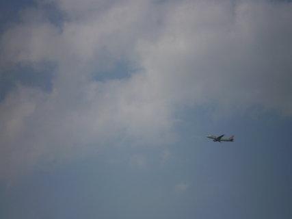 FOTKA - Letadlo po odletu z Prahy