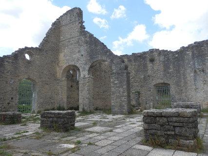 FOTKA - zrestaurované ruiny  - Dvigrad, Chorvatsko