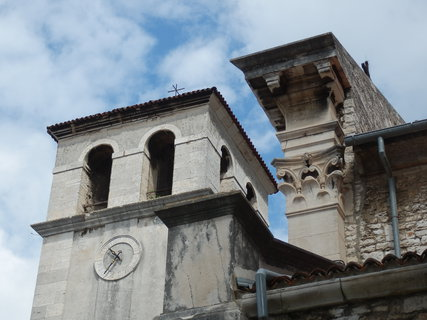 FOTKA - Katedrála Nanebevzetí Panny Marie - detail / Pula, Chorvatsko