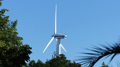 FOTKA - Vrtule větrné elektrárny