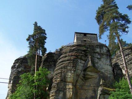 FOTKA - hrad Sloup na skále