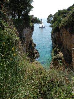 FOTKA - zátoka * pobřeží Istrie