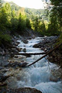 FOTKA - Školní výlet k Triefen - Teče spousta vody